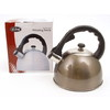 D.Line S/S Whistling Kettle 2.5 Ltr  - Black