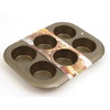 D.LINE NON-STICK JUMBO MUFFIN PAN (6 Cup)
