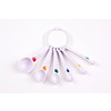 D.Line Plastic Measuring Spoons Set 6