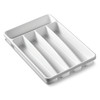 """Made Smart"" Storage - Basic 5 Compartment Cutlery Tray 32.5 x 23 x 4.4cm(PACK OF 6)"