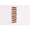 D.Line Storage - 4 Tier Spice Rack (16 Bottle Capacity)44 x 18.5cm