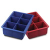 Tovolo King Cube Ice Tray  - Red