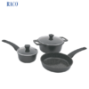 RACO Caststone 3 Piece Cookware Set Black