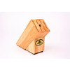 D.LINE BEECHWOOD KNIFE BLOCK (SLOPING, LARGE)