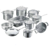 SCANPAN IMPACT 10 PIECE COOKWARE SET