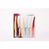 D.LINE COLOURED STEAK KNIFE (SET of 6, NON-STICK BLADE)