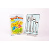 Dline Kids -  4 Pce 18/10 Kid's Cutlery Set - Teddy Bear