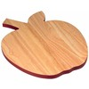 DAVIS & WADDELL APPLE CHOPPING BOARD WITH PAINTED RIM