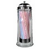 DAVIS & WADDELL GLASS STRAW DISPENSER