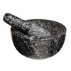 DAVIS & WADDELL GRANITE MORTAR & PESTLE