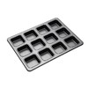 MasterClass Non Stick 12 Hole Square Brownie Pan
