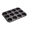 MasterClass Non Stick 12 Cup Fluted Muffin Pan