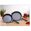 SWISS DIAMOND 2PC FRYING PAN SET 24CM AND 28CM FRYING PANS