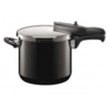 SILIT PRESSURE COOKER - BLACK 6.5 LTR  MADE IN GERMANY