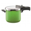 SILIT PRESSURE COOKER - LIME GREEN  6.5 LTR  MADE IN GERMANY