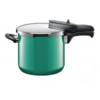 SILIT PRESSURE COOKER - OCEAN GREEN 6.5 LTR  MADE IN GERMANY