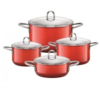 Silit Energy Red 4-Piece Cookware Set