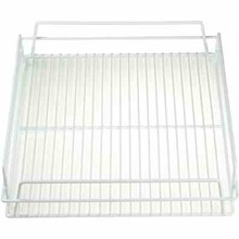 "GLASS BASKET - PVC (14x14"" ;  WHITE)"
