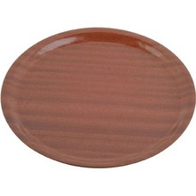 TRAY (WOOD ; ROUND ; 435 mm ; MAHOGANY)