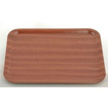 TRAY (WOOD ; 270 x 200 mm ; MAHOGANY)