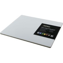 CUTTING BOARD (PP ; 380 x 510 x 12 mm ; WHITE)