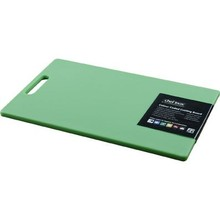 CUTTING BOARD (PP ; 230 x 380 x 12 mm ; GREEN; with handle)