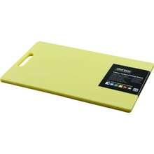 CUTTING BOARD (PP ; 300 x 450 x 12 mm ; YELLOW ; with handle)