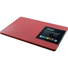 CUTTING BOARD (PP ; 380 x 510 x 12 mm ; RED)