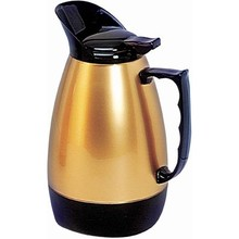 "INSULATED JUG -""HOT'n COLD"" (1.0 lt ; BLACK/GOLD)"