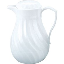 "INSULATED JUG - ""CONNOISSERVE"" - PUSH BUTTON-(0.6 lt ; WHITE)"