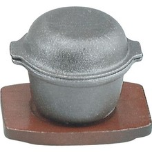 GARLIC PRAWN POT - CAST IRON