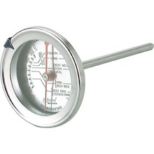 MEAT THERMOMETER (S/S; 70 mm ; DUAL)