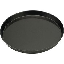PIZZA PAN (220 x 25 mm ; BLUE STEEL)