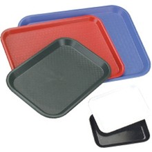 PLASTIC TRAY (250 x 350 mm ; POLYPROPYLENE ; RED)