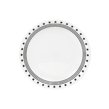 "CORELLE   - CITY BLOCK - LUNCHEON PLATE (8.5"" / 21.5 cm) (PACK OF 6)"