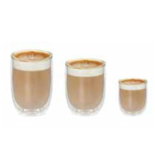 PYREX DOUBLE WALL EXPRESSO GLASS TWIN PACK (100 ML)