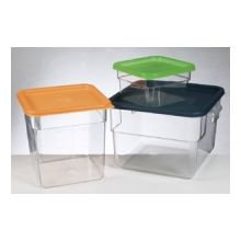 Polycarbonate Square Storage With Lid 1.9lt
