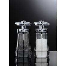 "D.Line 'S&P' -  ""Tap"" Acrylic Pepper Mill 12.5cm (filled)"