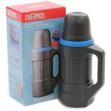 "Thermos 1.0L ""Shock Resistant - Floating"" Stainless Steel Vacuum Flask"