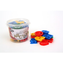 D.Line 'Cutters' - Alphabet & Number Cookie Cutters 36 Pce in Tub
