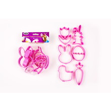 D.Line 'Cutters' - Easter Cookie Cutters in Mesh Bag  Set 6