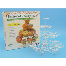 D.Line Patty Cake Party Tree 23 Cup  - Vintage White