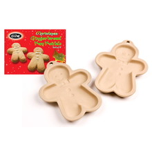 D.Line Ceramic Gingerbread Man Moulds Set 2