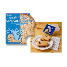 Tovolo Sandwich Shaper With Box - Whale & Octopus