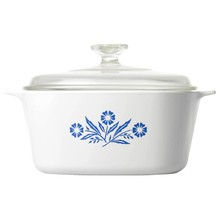 Corningware Blue Cornflower 1.5L Square Casserole