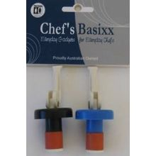 Chef's Basixx Bottle Stopper 2 Pack x 6