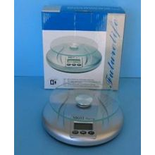 Silver Digital Scale 3KG