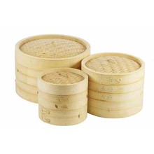 DELUXE BAMBOO STEAMER  ( 20.3 x 14.5 cm )