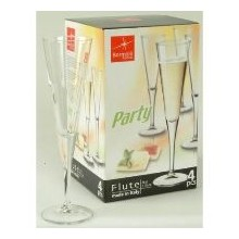 PARTY FLUTE (160 ML ; SET OF 4)