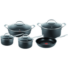 Jamie Oliver Hard Aodised Induction 5 pc set with Pot roast